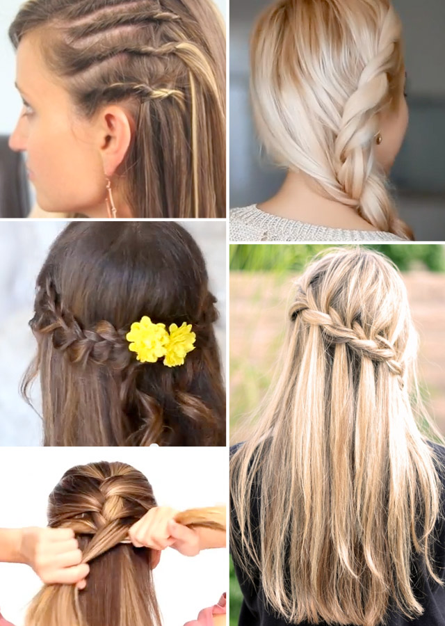 How To Create 5 Easy Summer Braids  Style Scoop  South - Easy Hairstyles For Little Girls
