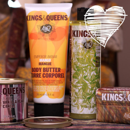 Kings & Queens – New Bath & Body Range Available At Edgars