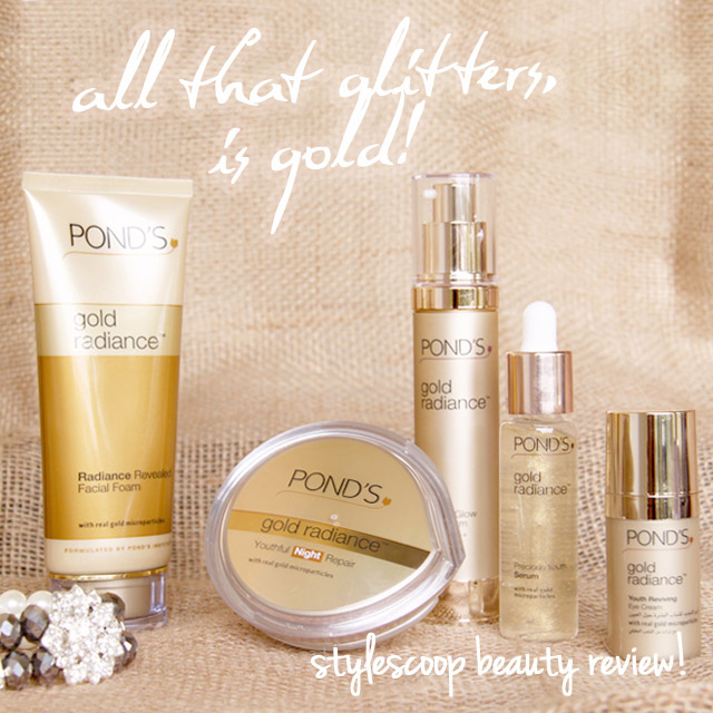 Pond's Gold Radiance | Review on www.stylescoopmag.com