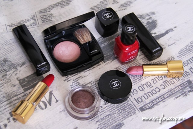 Chanel Christmas Makeup Collection & Review