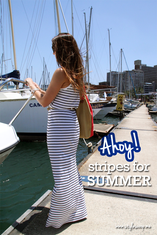 Summer Stripes {outfit.post} #GapSA