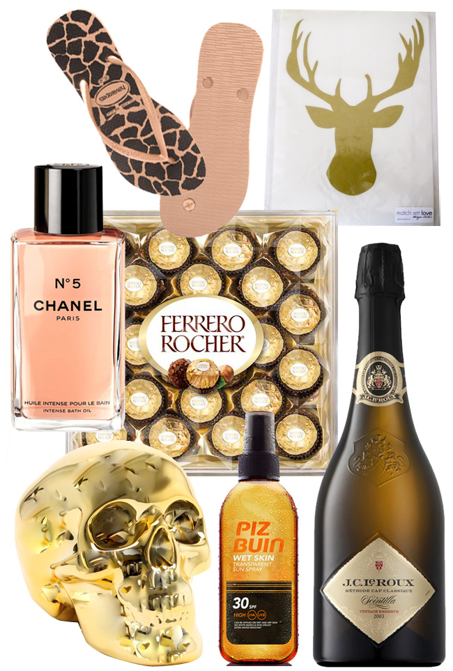 Last Minute Gifts – Gold