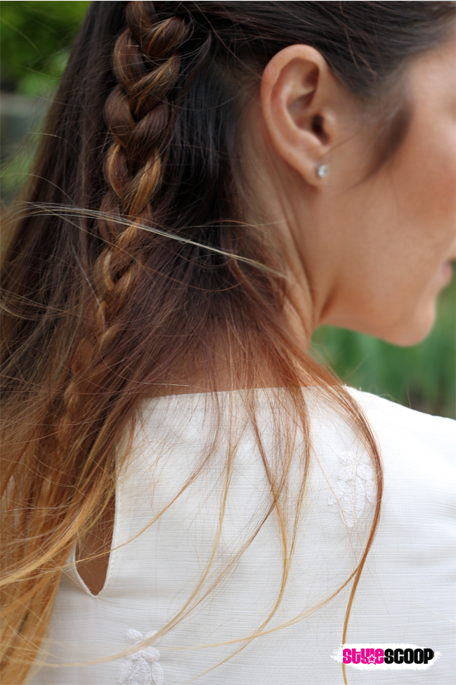 Boho Side Braid. More on StyleScoop.Me