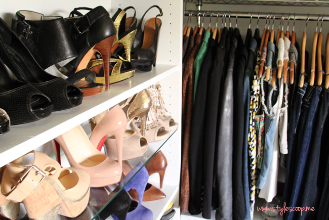 StyleScoop Closet Tour! More on www.stylescoop.me