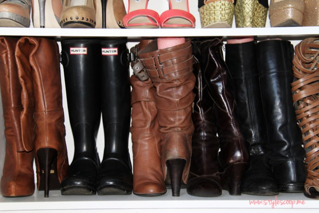 3 Clever Ways to Store Your Boots This Winter