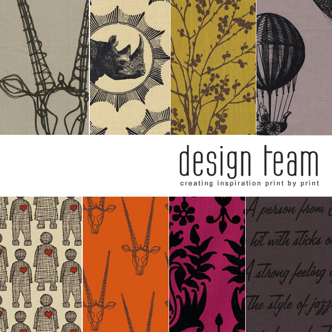 Design Team. Fabric Obsession