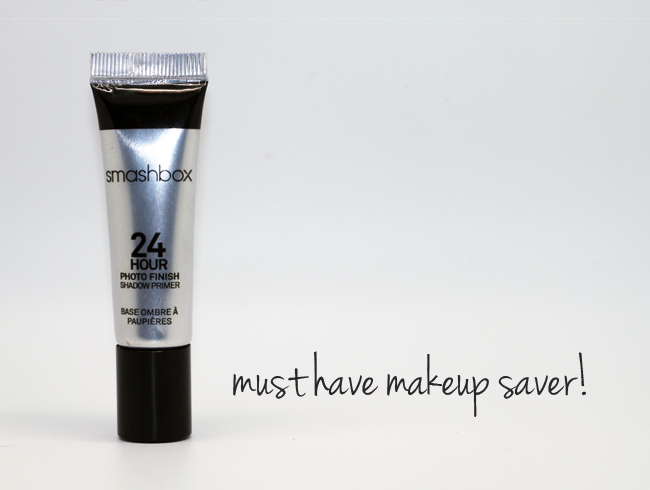 Make Your Eyeshadow Last All Day with Smashbox 24 Hour Photo Finish Shadow Primer