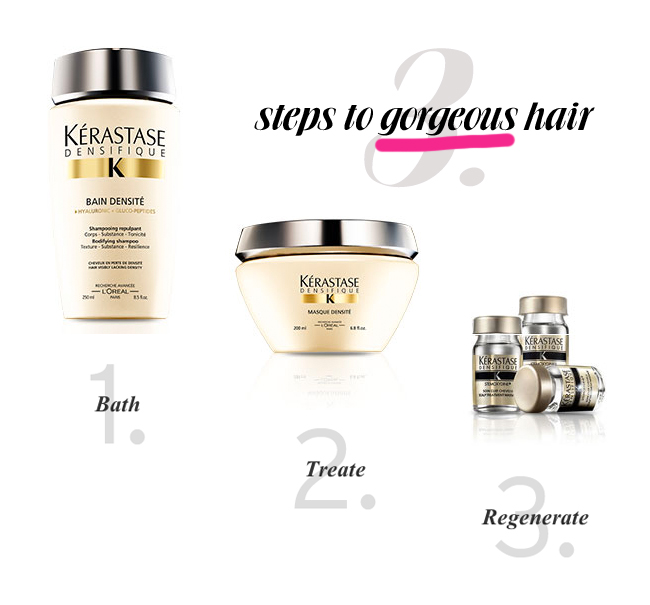 3 Steps to Gorgeous Hair