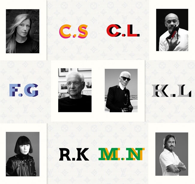 Lagerfeld, Louboutin & More for Louis Vuitton's new bag Collection! #CelebratingMonogram!