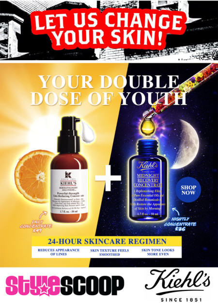 #ChangeYourSkin with Kiehl
