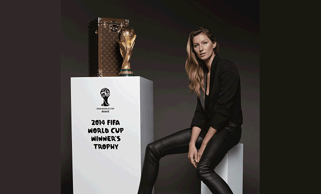 Gisele Bündchen to Escort World Cup Trophy at Final