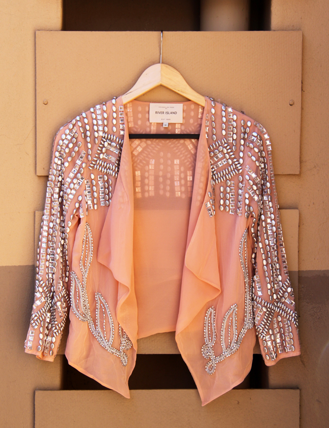 riverisland-salmon-studded-jacket