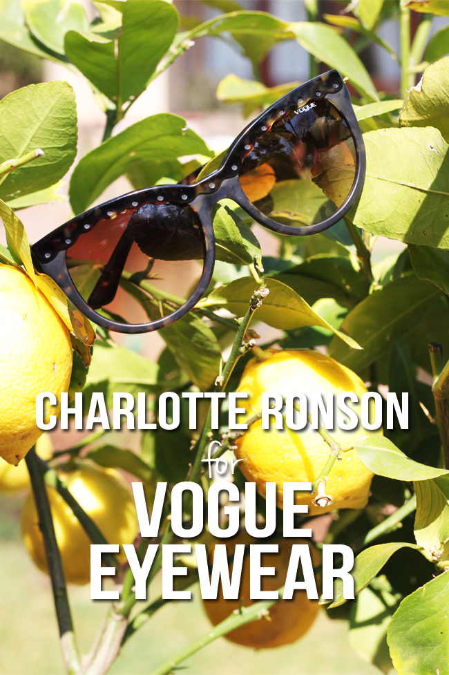 Charlotte Ronson for VOGUE Eyewear