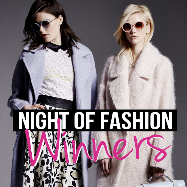My Night of Fashion Winners