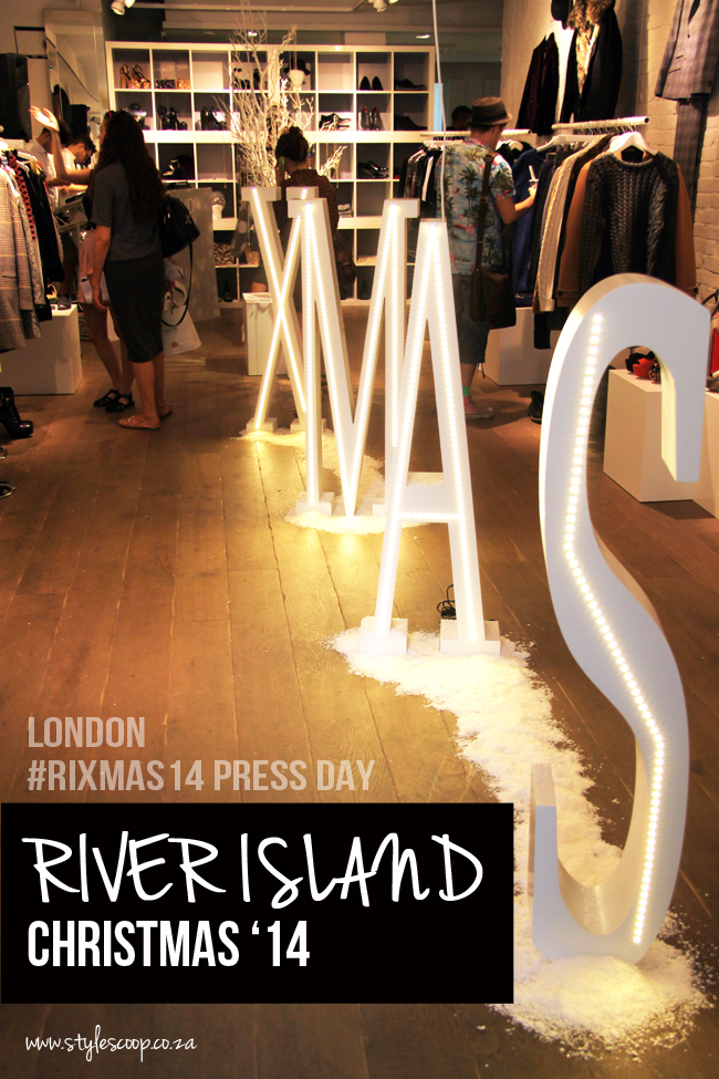 River Island Christmas Collection 2014