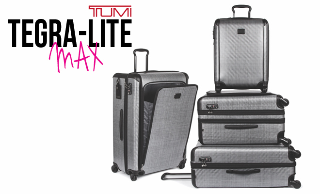 MAXimum Travel Style! TUMI Tegra-Lite MAX Arrives in SA