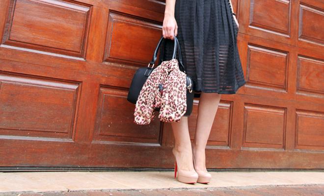 Crop Tops & Midi Skirts #EleganceUntamed Outfit Post