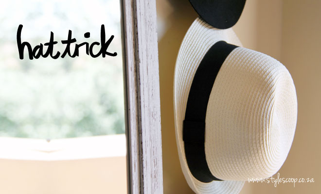 Hat Trick! DIY Store and Display Your Hats