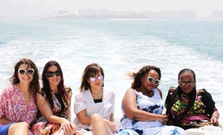 Cruising Around the Dubai Marina