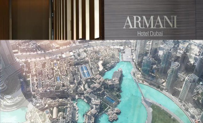 View From The Top! Burj Khalifa & Armani Hotel Dubai
