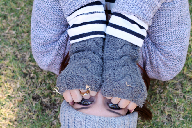 Shades of Grey | OOTD on StyleScoop