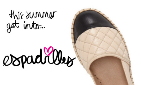 Have To Have Now… The Espadrille