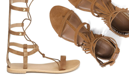 Summer's Hottest Nude Strappy Sandals