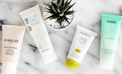 summer-skin-prep-exfoliants-and-masks-stylescoop-featured