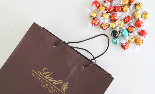Chocolate Heaven at SA's first LINDT Boutique