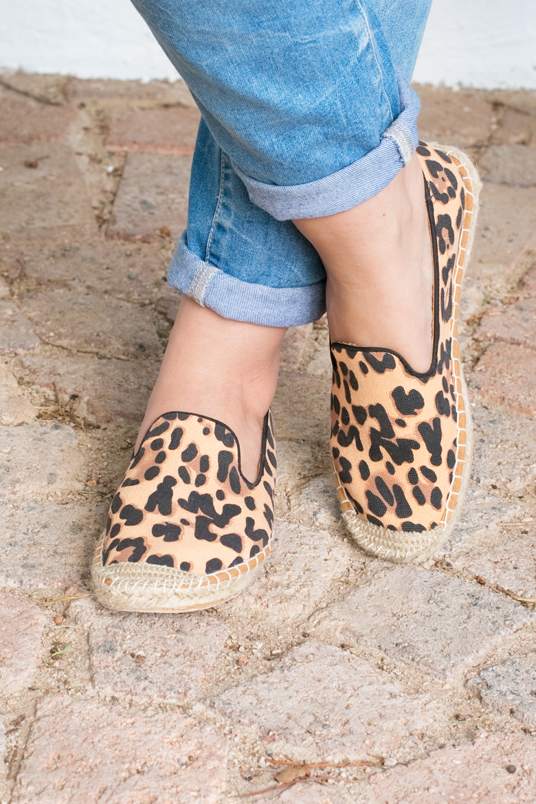 Leopard Espadrilles Outfit Stylescoop South African