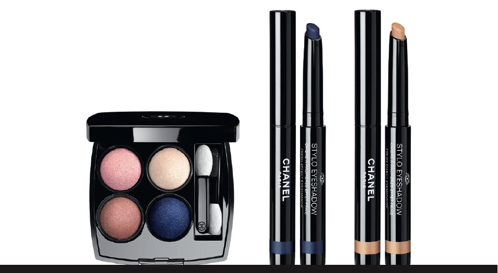chanel-eyes collection 2016 tisse particulier bleu nuit beige dore stylescoop beauty blog