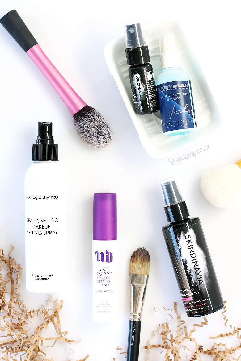 The Best Makeup Setting Sprays