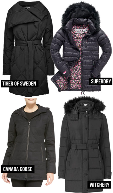4 Stylish Puffer Coats