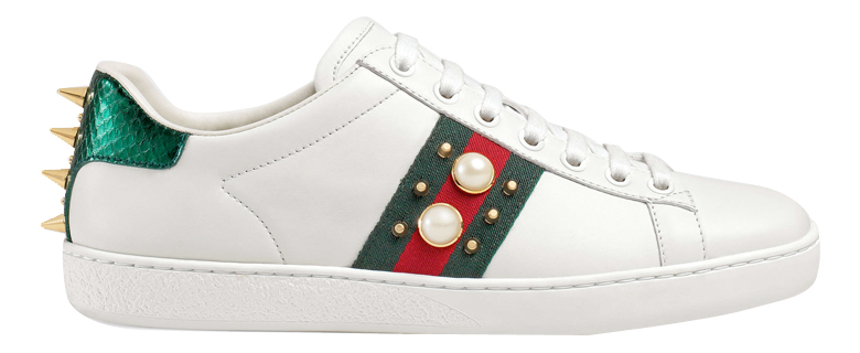 GUCCI-Ace-Studded-Leather-Low-Tops