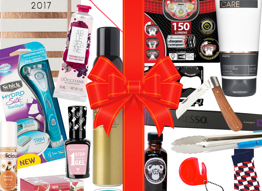 10 Budget Gifts for Him & Her Under R200