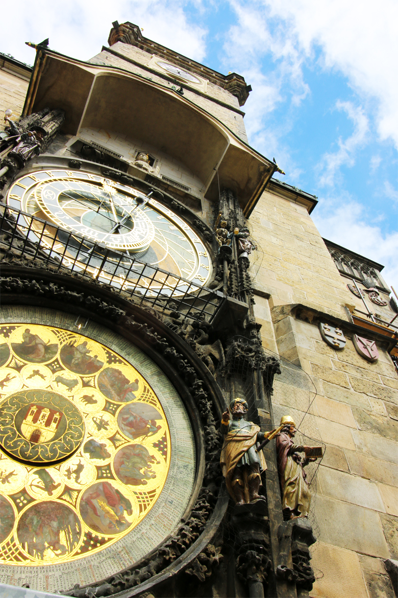 Astronomical Clock in Old Town Square - Prague