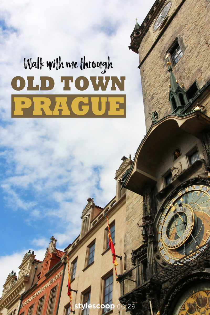 Come Walk With Me Through Old Town Prague