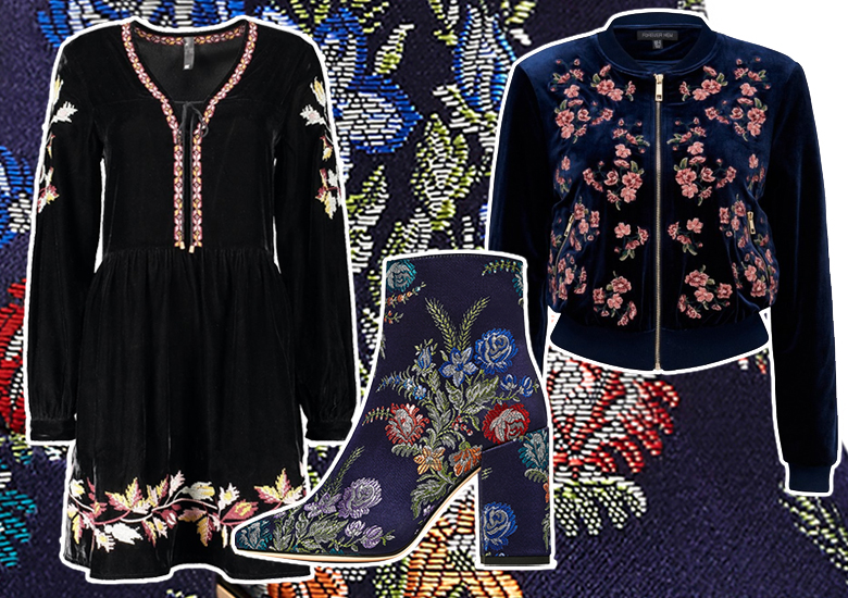 Opulent Florals for Winter – Shop the Look