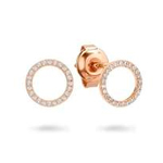 Ara Rose Gold Earring