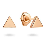 Norma Rose Gold Earring