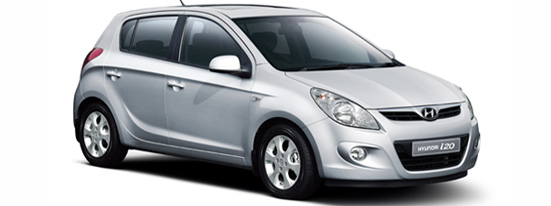 Hyundai getz a new look in the 120i