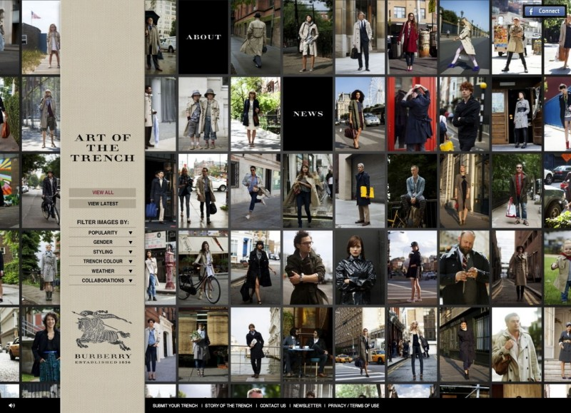"""Burberry's """"Art of the Trench"""" featuring The Sartorialist"""