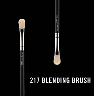 M.A.C 217 Blending Brush review