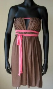 Versatile box dress