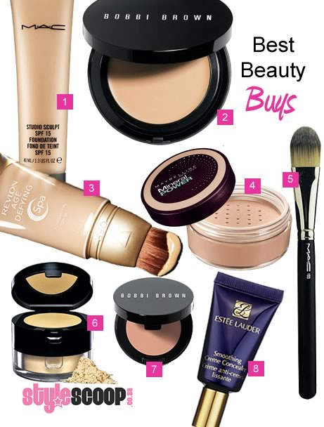 Best Beauty Buys – Foundations and face makeup