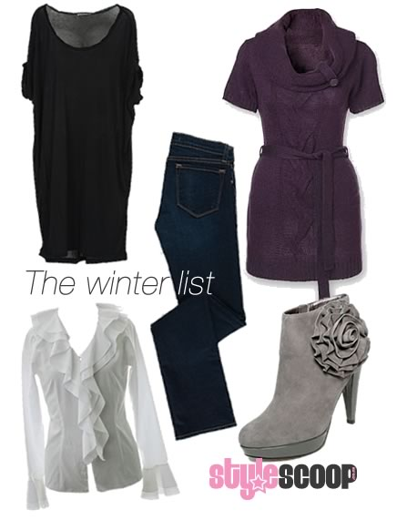 Stylish winter must have's