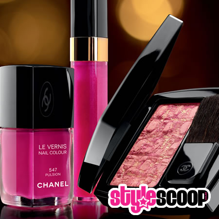 Chanel Christmas makeup collection 2010