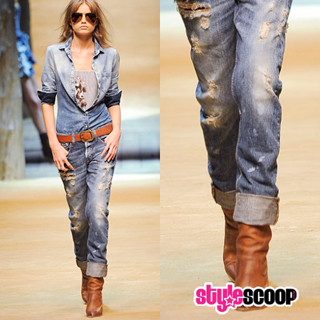 The Turn up Jeans Trend – Gotta Love it!