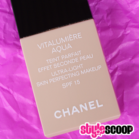 Beauty Review – Chanel VITALUMIÈRE AQUA foundation
