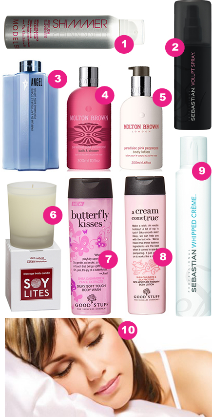 Ten of the Best Body Indulgent Treats